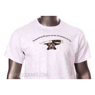 T-shirt Buck Celebrating 50 years of the 110 Folding Hunter L 033753124440 - 2