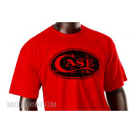 T-shirt Case Logo Red