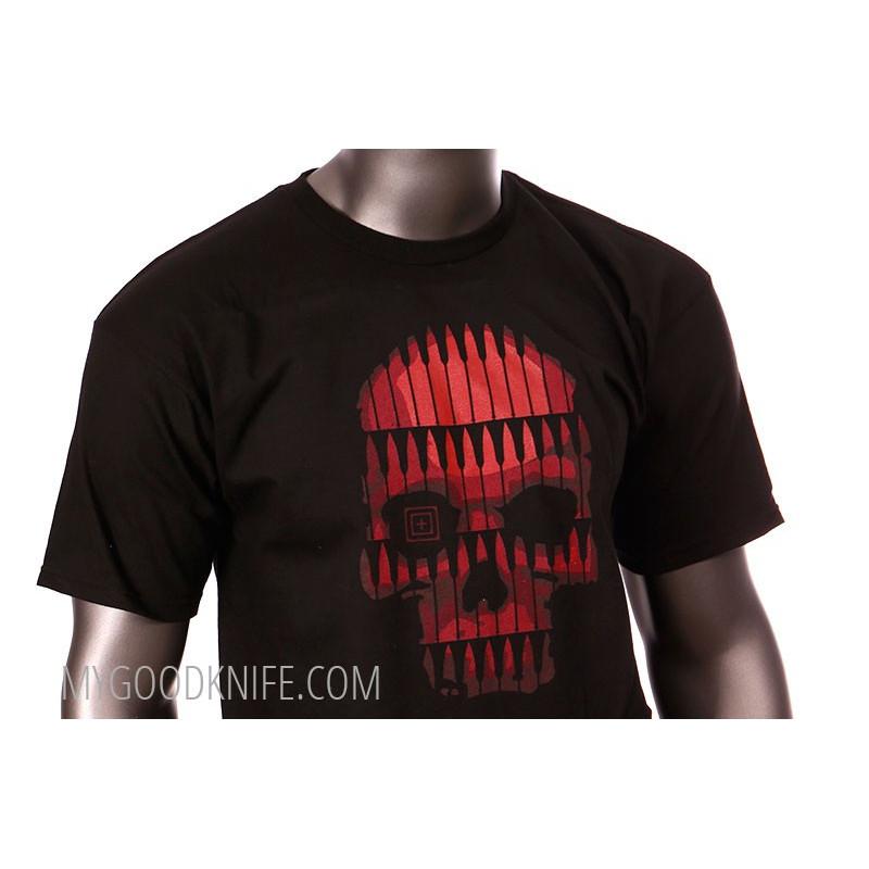 Сamiseta 5.11 Bullet Skull XXL 511BUXXL - 1
