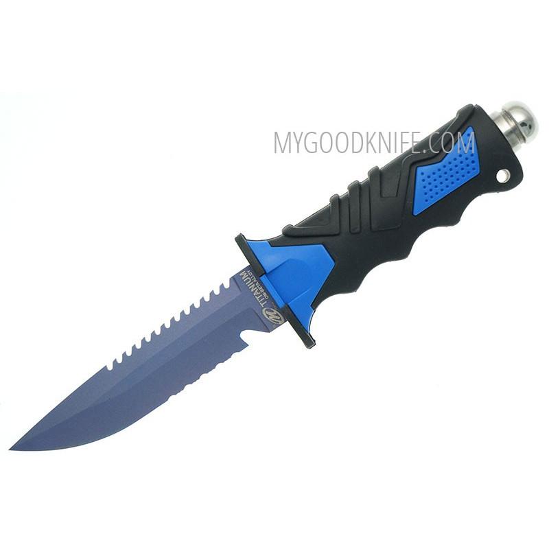 Водолазный нож Ocean Master Дайверский  QT500LS 12.9см - 1