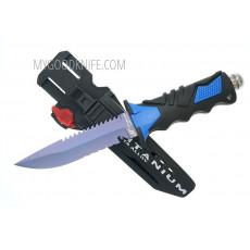 Водолазный нож Ocean Master Дайверский  QT500LS 12.9см - 4