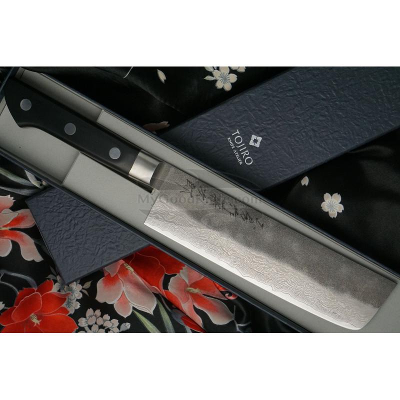 Nakiri Japanese kitchen knife Tojiro Atelier TA-VE165 16.5cm - 1