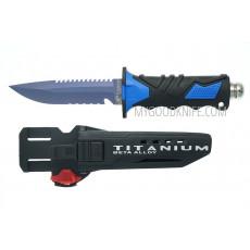 Diving knife Ocean Master QT500LS 12.9cm - 5