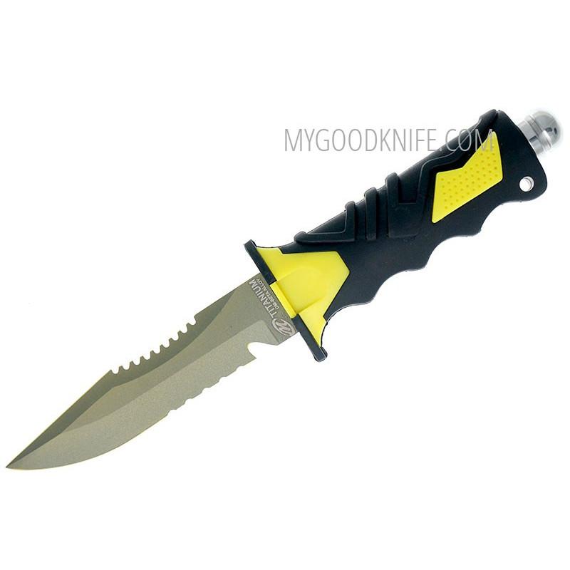 Водолазный нож Ocean Master Дайверский QT500SAW 12.9см - 1