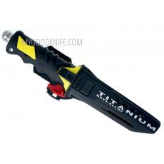 Водолазный нож Ocean Master Дайверский QT500SAW 12.9см - 3