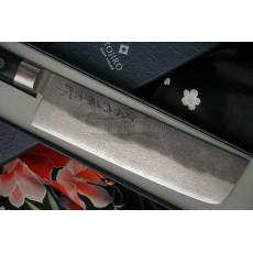 Nakiri Japanese kitchen knife Tojiro Atelier TA-VE165 16.5cm - 2