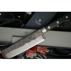 Nakiri Japanese kitchen knife Tojiro Atelier TA-VE165 16.5cm - 3