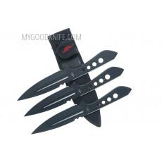 Метательный нож Kit Rae AirCobra Triple Набор из 3 шт. 760729006164 14см - 3