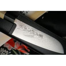 Japanilainen keittiöveitsi Santoku Tojiro Shippu Special TSSS 16.5cm - 2