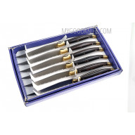 Steak knife Linder Set of 6 360206 11cm