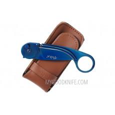 Kääntöveitsi Tekut Caper Sininen 330906 7cm - 3