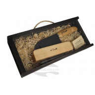 Chef knife Roselli Oriental Kitchen Small Chef in gift box R700P 13.5cm