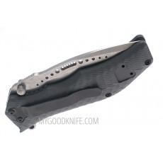 Серрейторный нож HTM Gun Hammer Gray A/O 47547 9см - 3