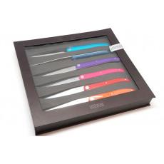 Cuchillo Chuletero Tarrerias-Bonjean Juego de  6 Laguiole Sens Assorted colours  449180 10cm
