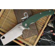 Folding knife CH Knives Saber Cleaver Butcher Army Green 3531 10.4cm
