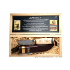 Finnenmesser Marttiini Damaskus in Geschenkbox 557010W 11cm