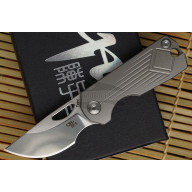 Folding knife CH Knives Toad Grey Small Toad-GR 4.5cm