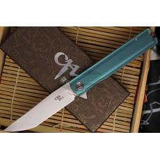 Folding knife CH Knives 3513 Green Tanto 3513gn 9.4cm