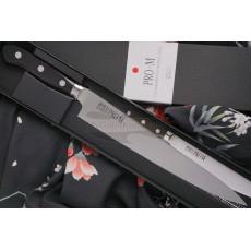 Japanilainen viipalointiveitsi Sujihiki Seki Kanetsugu Pro-M 7009 24cm