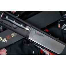 Japanilainen vihannesveitsi Nakiri Mcusta Zanmai Classic Pro Zebra HFZ-8008D 16.5cm