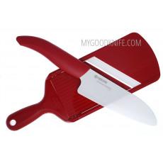 Керамический кухонный нож Kyocera в наборе FK140WH+CSN202 SET-RD - 2