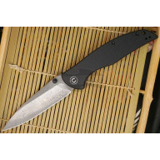 Folding knife CIVIVI Governor Black Damascus C911DS 9.8cm