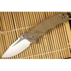 Folding knife CIVIVI Hooligan Dark Earth C913A 7.6cm