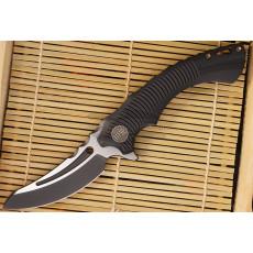 Folding knife We Knife Sea Monster Black 713D 8.4cm
