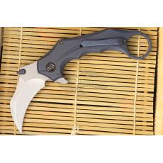 Karambit-kääntöveitsi We Knife Incisor Sininen 816A 7cm