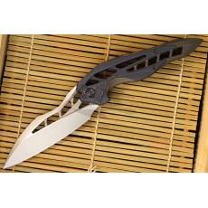 Складной нож We Knife Arrakis Stonewash Синий/Коричневый 906E 8.8см