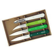 Kitchen knife set Opinel Primavera  4 Essentials Box 001709