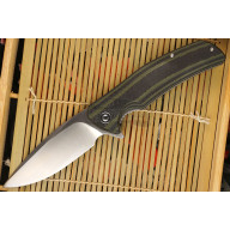 Folding knife CIVIVI Incite Green G10/Carbon Fiber C908A 9.4cm