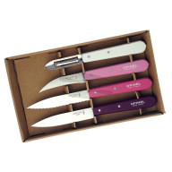 Kitchen knife set Opinel Primarosa 4 Essentials Box 001736