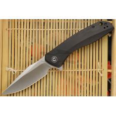Folding knife CIVIVI Baklash Ebony Wood C801E 8.9cm