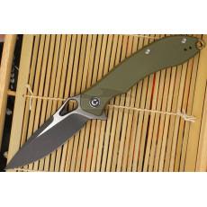 Складной нож CIVIVI Aquila Зеленый Black Stonewash C805A 8.8см