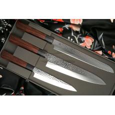 Kitchen knife set Seki Kanetsugu Heptagon-Wood 3 pcs 9107
