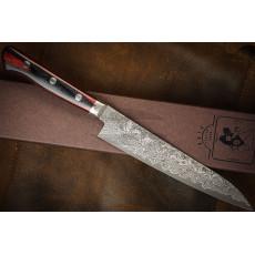 Японский кухонный нож Yoshimi Kato Black Nickel VG-10 Petty D611 15см