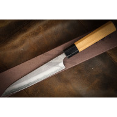 Japanese kitchen knife Yoshimi Kato Satin finished Ginsan Petty 15 cm D-701SW 15cm