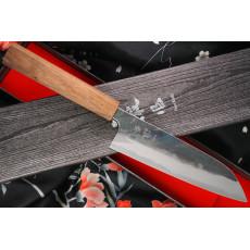 Японский кухонный нож Сантоку Ittetsu Shirogami IW1184 16.5см