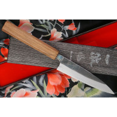 Japanese kitchen knife Ittetsu Shirogami Petty IW1181 12cm