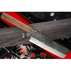 Japanilainen vihannesveitsi Nakiri Ittetsu Shirogami IW1185 16.5cm