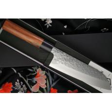 Japanilainen keittiöveitsi Santoku Makoto Kurosaki STYLK-102 16.5cm