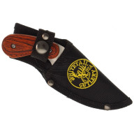 Skinning knife Frost Cutlery Red Pakkawood FWT780RPW 8.9cm - 3