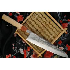 Японский кухонный нож Гьюто Ittetsu Tadafusa OEM IS-45 24см