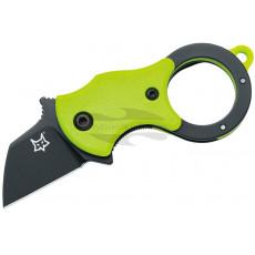 Navaja karambit Fox Knives Mini-TA Green/Black FX-536 GB 2.5cm