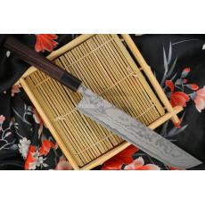 Cuchillo Japones Shiro Kamo Slicer G-0105 21cm