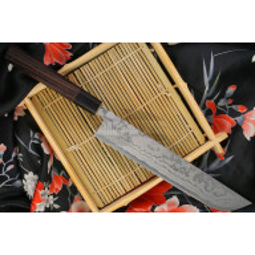 Японский кухонный нож Shiro Kamo Slicer G-0105 21см