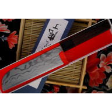 Японский кухонный нож Shiro Kamo Kama-Usuba G-0104 16.5см