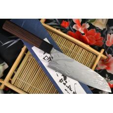 Японский кухонный нож Сантоку Shiro Kamo G-0103 16.5см
