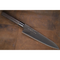Gyuto Japanese kitchen knife Tojiro Zen Black FD-1565 24cm